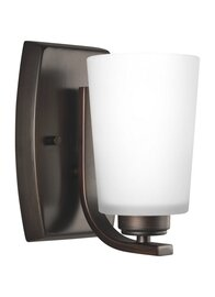 Burnt Sienna One Light Wall Sconce