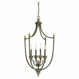 Estate Bronze Four Light Pendant