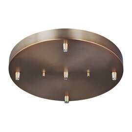 Satin Bronze Mini-Pendant Accessories