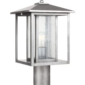 Weathered Pewter One Light Post Mount