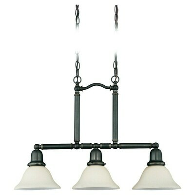 Heirloom Bronze Three Light Pendant