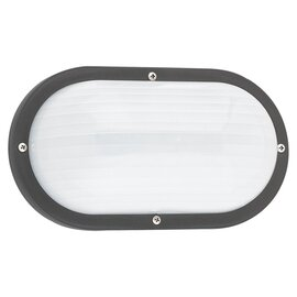 Black One Light Wall/Ceiling Fixtures