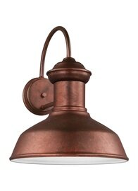Weathered Copper One Light Wall Mount