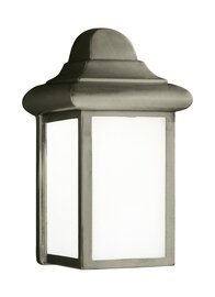 Pewter One Light Wall Mount