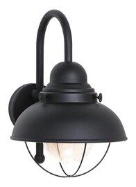 Black LED Wall Mount