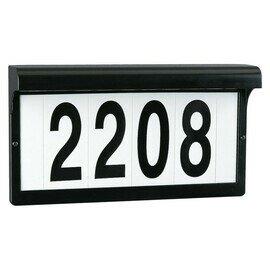 Black Two Light Address Lights/Signs