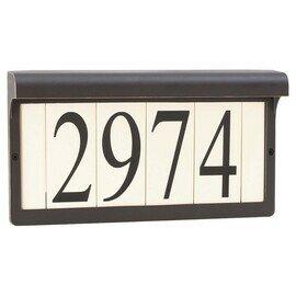 Antique Bronze Two Light Address Lights/Signs