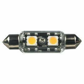 Clear Lx LED Clear Festoon Lamp - 2700K 12v