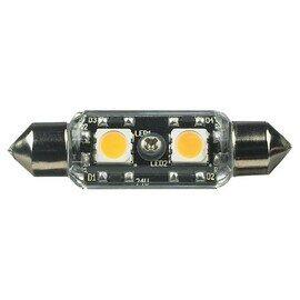 Satin White Lx LED Frosted Festoon Lamp - 2700K 12v