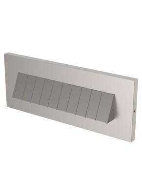 Satin Nickel Step / Deck / Brick Lights