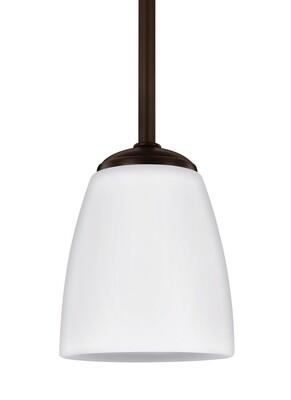 Heirloom Bronze One Light Mini Pendant