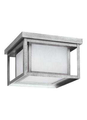 Weathered Pewter LED Ceiling Mount