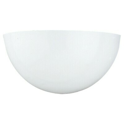 White One Light Wall Sconce