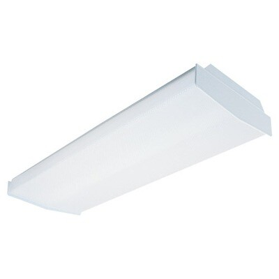 White Four Light Ceiling Mount