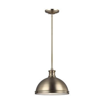 Satin Bronze Two Light Pendant