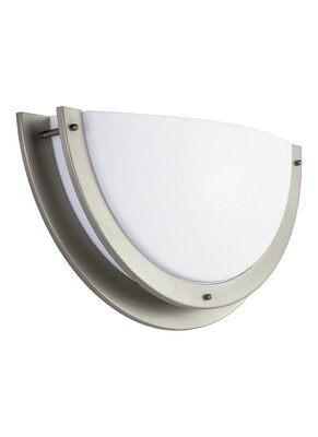 Brushed Nickel LED Wall Sconce