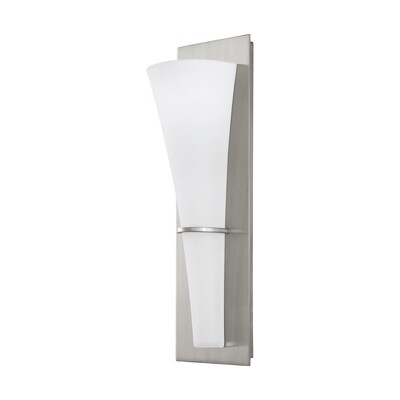 Brushed Steel LED Wall Sconce