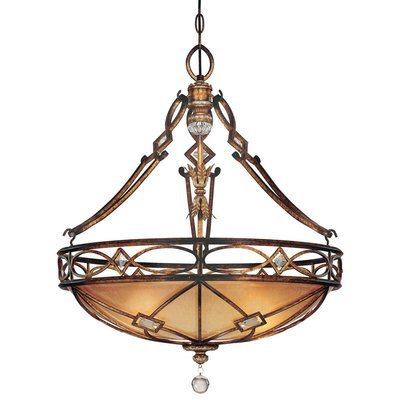 Aston Court Bronze 3Lt Pendant
