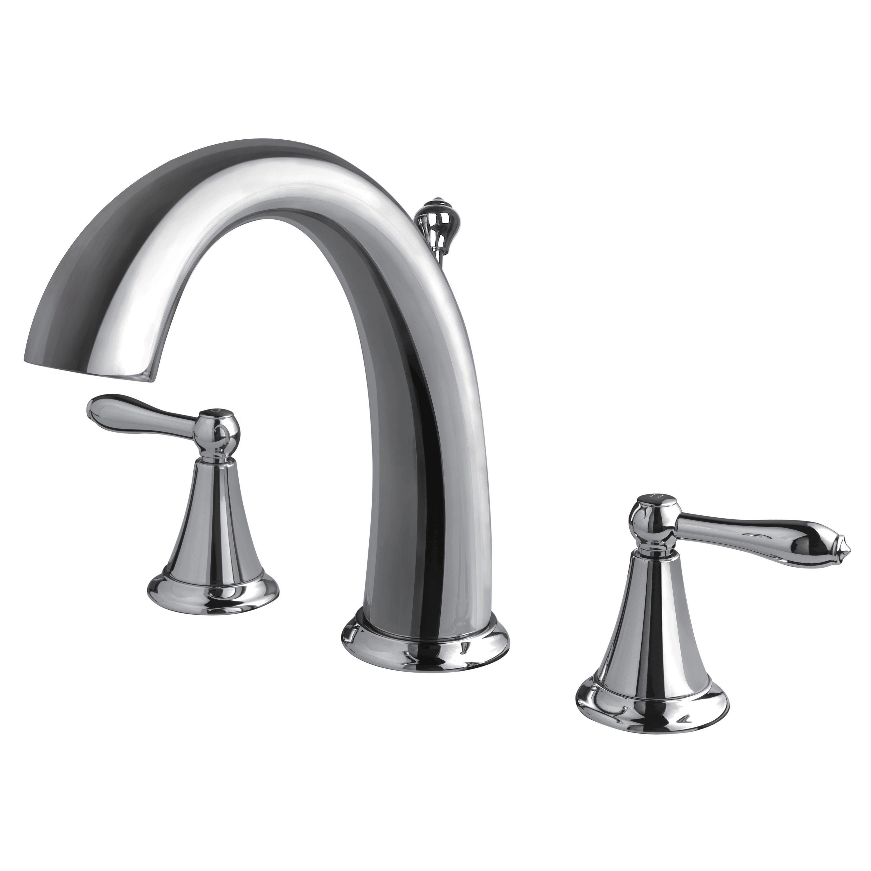 Contour Chrome Two Handle Widespread Lavatory Faucet B-910107