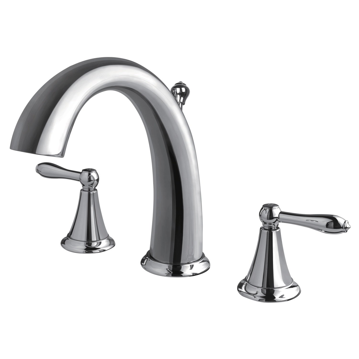 Contour Chrome Two Handle Widespread Lavatory Faucet