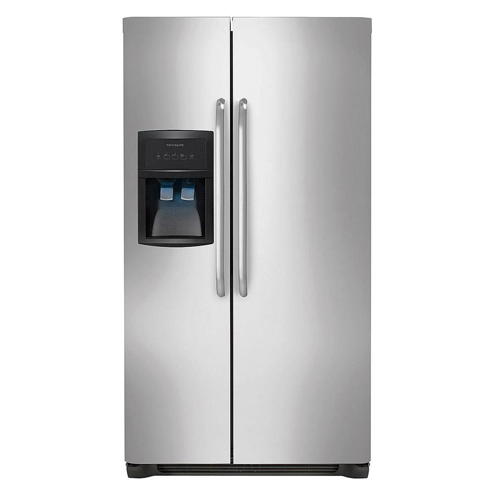 Frigidaire Stainless Steel Side-by-Side Refrigerator