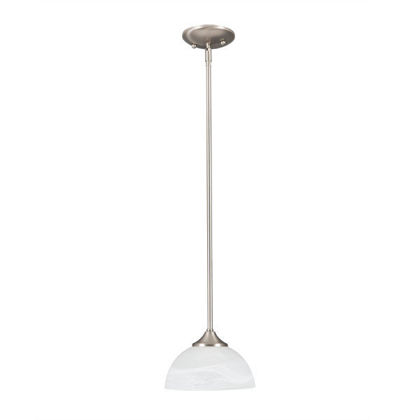 Glacier Point Satin Nickel 1Lt Mini Pendant B-700145