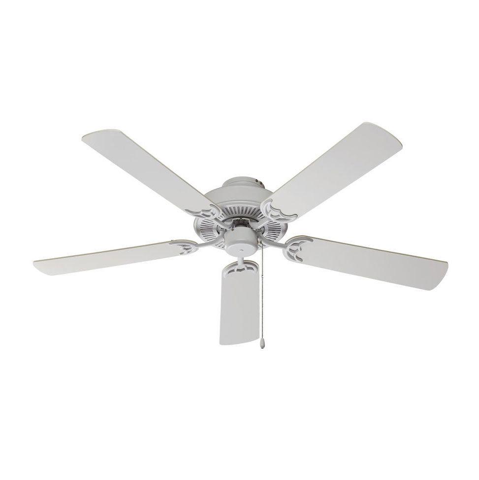 "Harbour 52"" White Ceiling Fan B-106620"