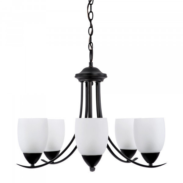 Kestrel Oil-Rubbed Bronze 5Lt Chandelier