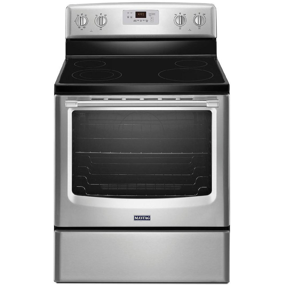 Maytag Stainless Steel Electric Range B-551225