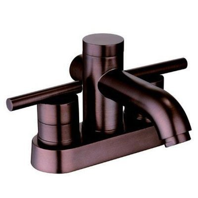 Oil-Rub Bronze Two Handle Lavatory Faucet