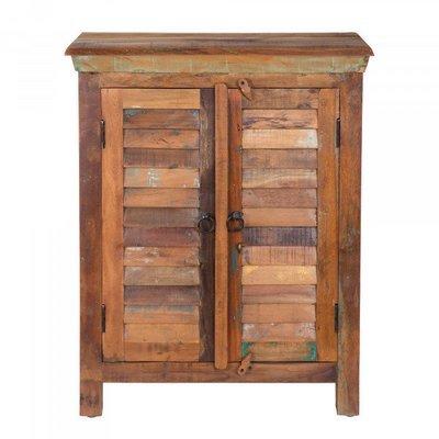 Solid Sheesham Wood 2 Door Accent Chest