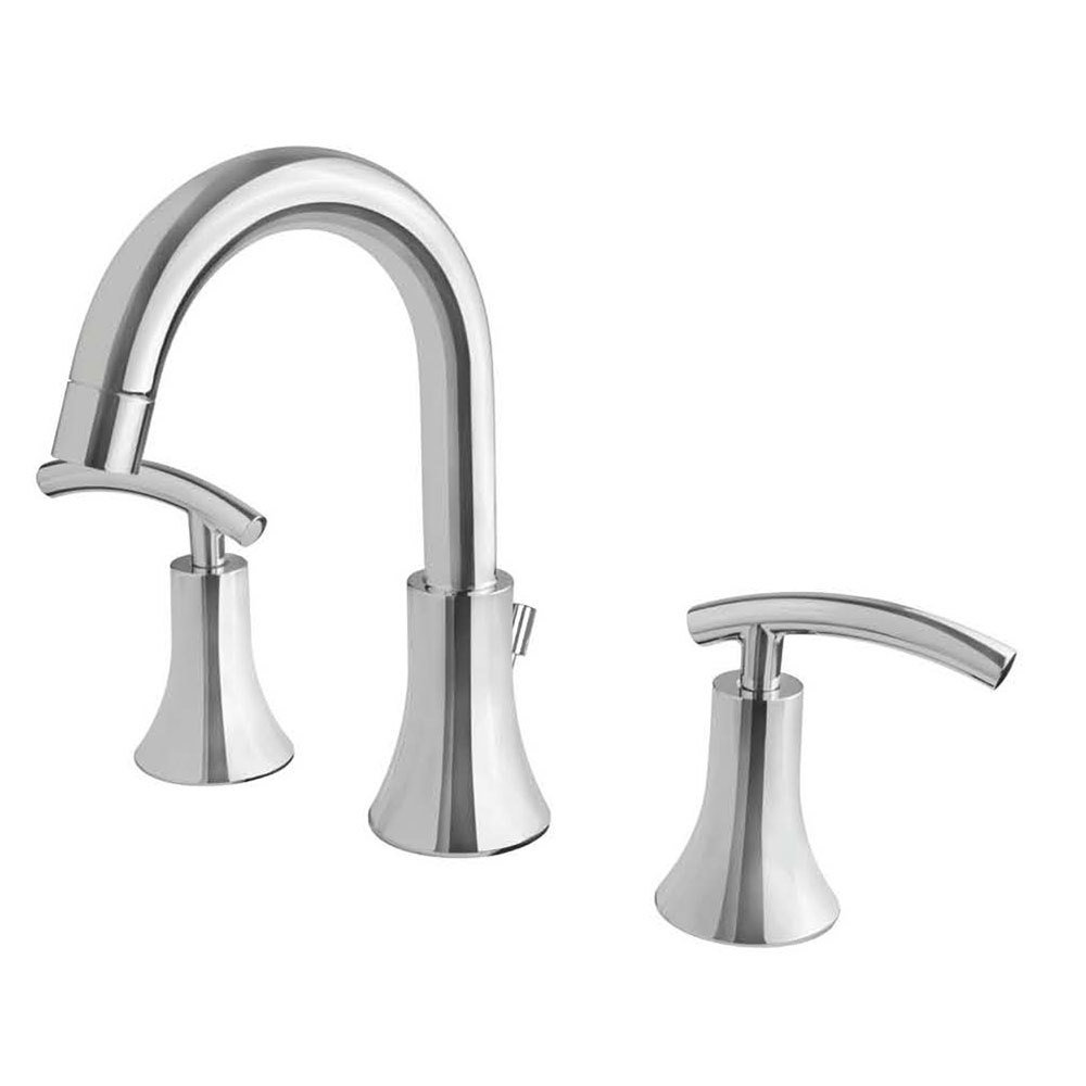Sweep Chrome Two Handle Widespread Lavatory Faucet C-910106