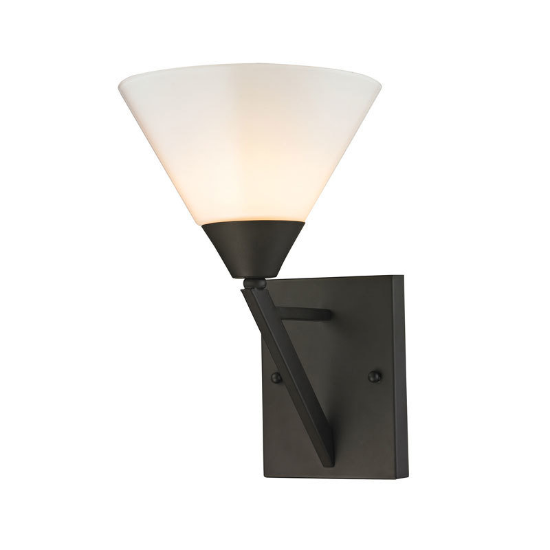 Tribecca Oil Rubbed Bronze 1 Light Sconce T-310534