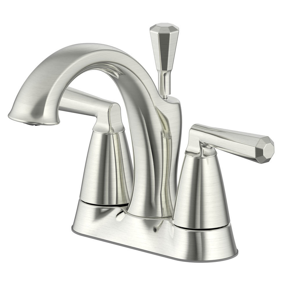 Z Collect Brushed Nickel Two Handle Lavatory Faucet B-910096