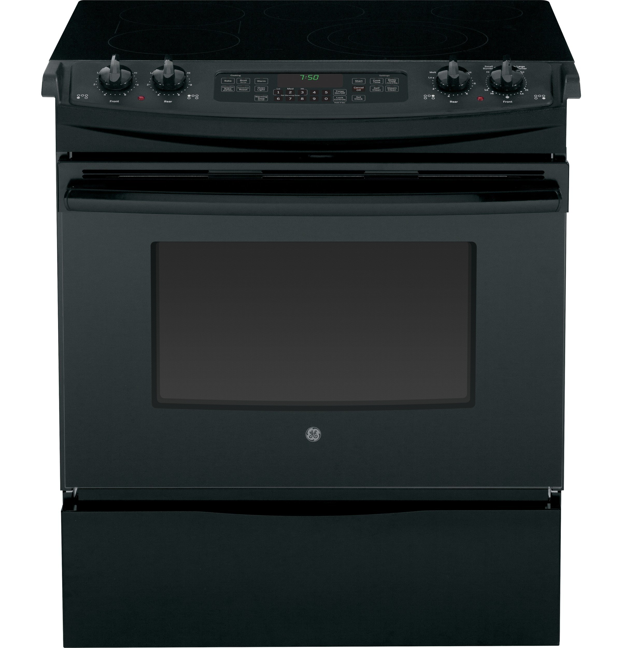 """GE 30"""" Slide-In Electric Convection Range BMT0000073952"""