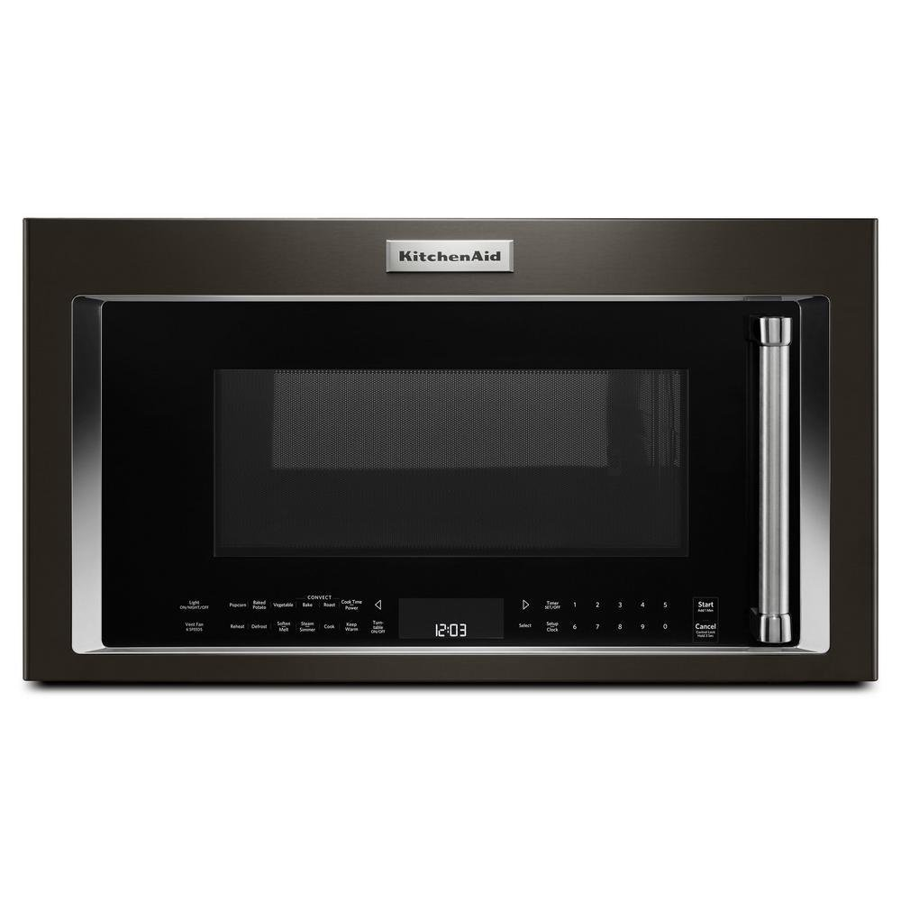 Black Stainless Steam/Convection OTR Microwave BMT0000075002