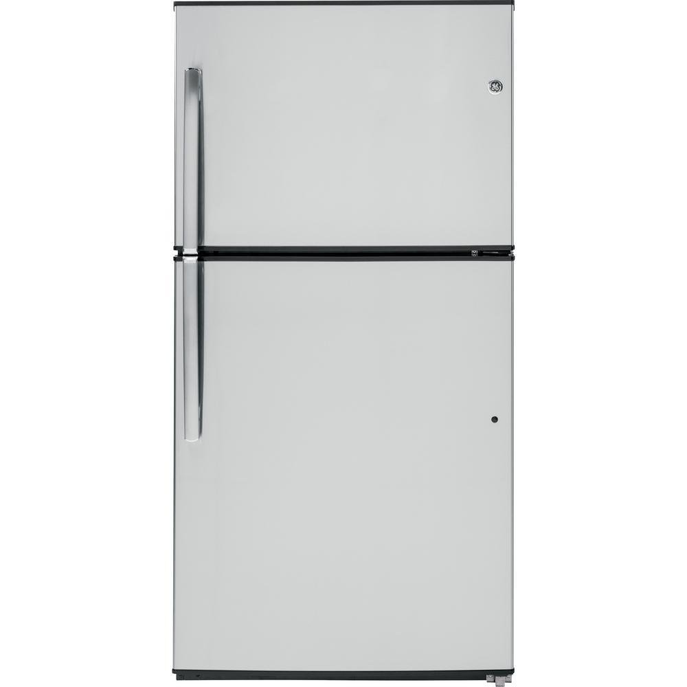 21.2 CF Top Freezer Stainless Steel Refrigerator TEM0000101503