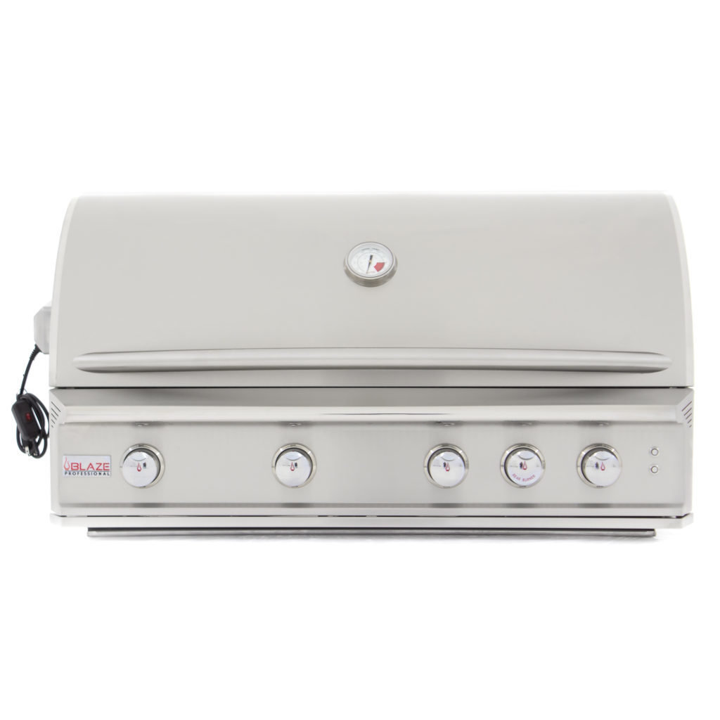 "Professional 44"" 4-Burner Built-In Gas Grill TEM0000105884"