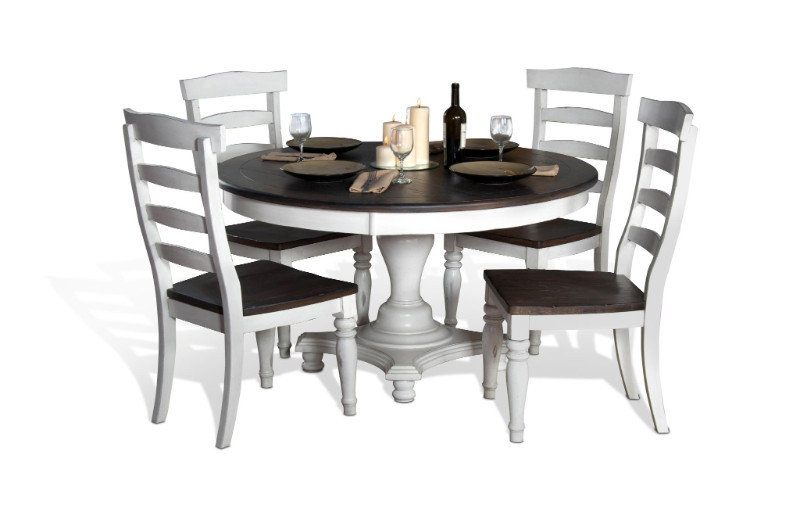 Bourbon County Adjustable French Country Dining Set B-835008
