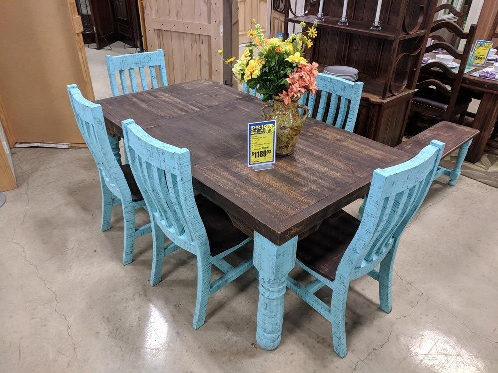 Turquoise Dining Set C-525088