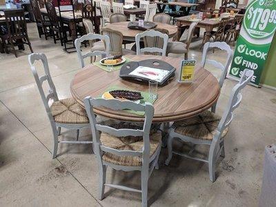 Drake Grey Mist/Driftwood Dining Set