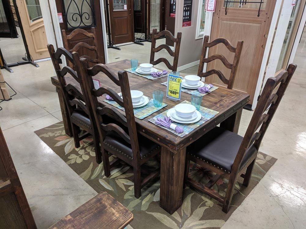 Laguna Reclaimed Wood Dining Set T-525305