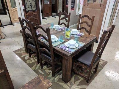 Laguna Reclaimed Wood Dining Set
