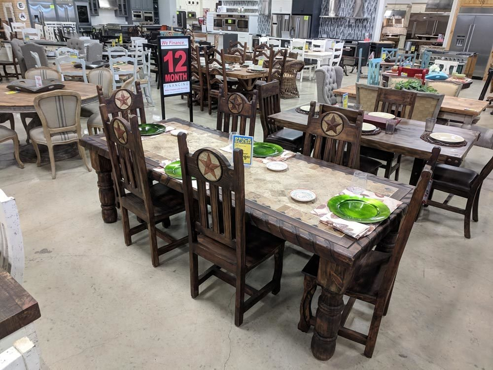 Medio 8' Stone Top Dining Set T-525141