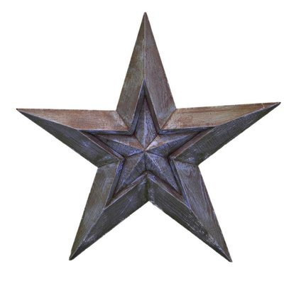 Large Turquoise Star