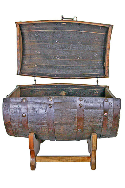 Whiskey Barrel Ice Chest T-525087