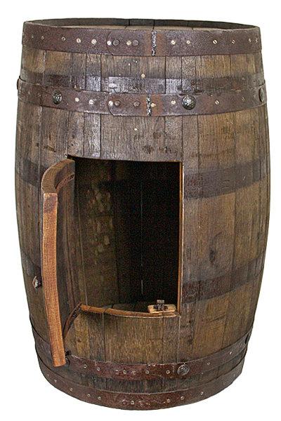 Whiskey Barrel Sink Cabinet T-525180