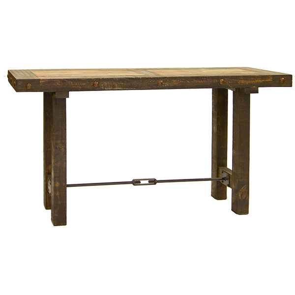 Las Piedras Console with Painted Wood T-525311
