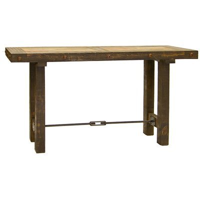 Las Piedras Console with Painted Wood