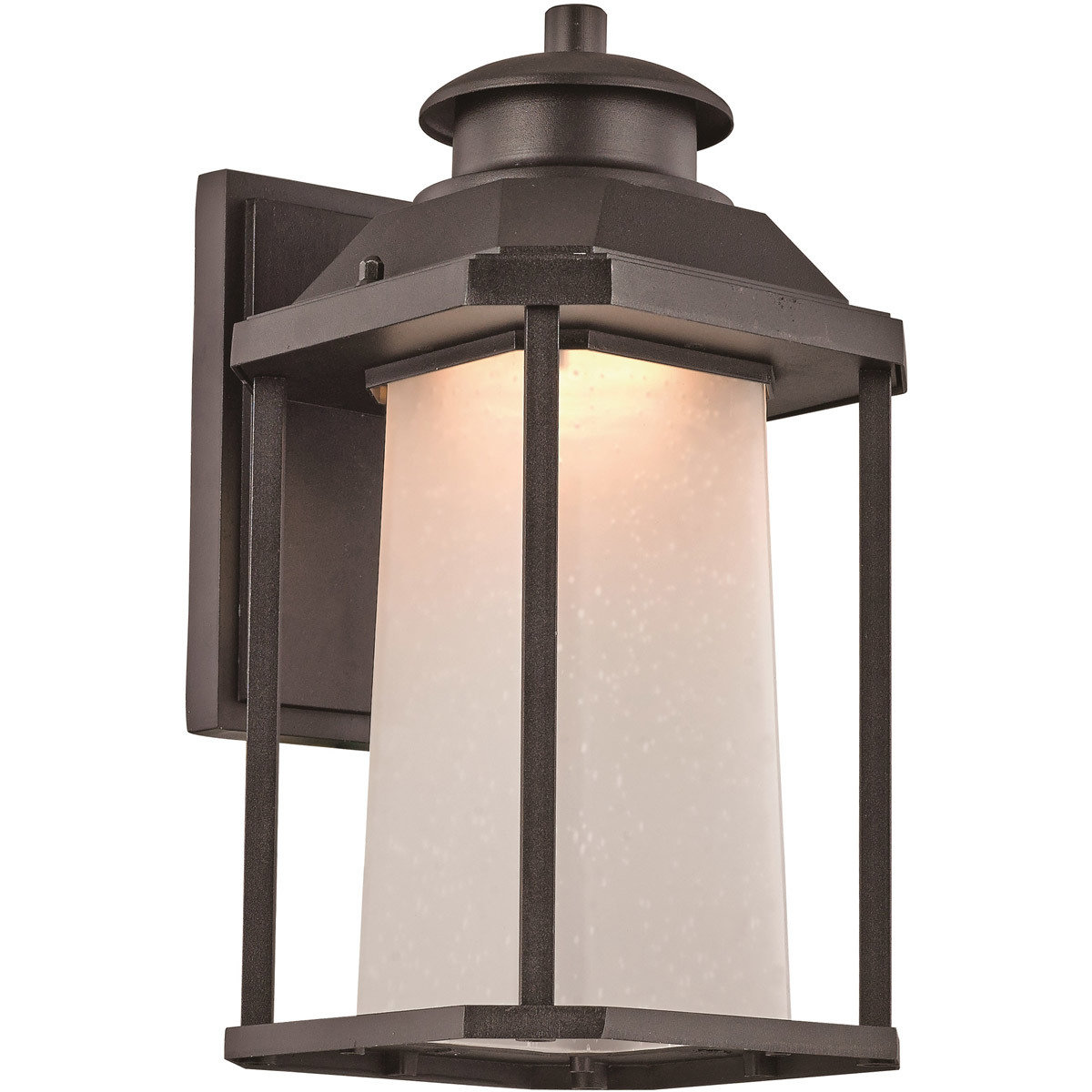 Southfield Black LED Wall Lantern B-106897